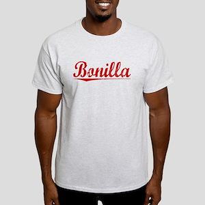 Bonilla, Vintage Red Light T-Shirt