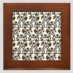 Dalmatians Framed Tile