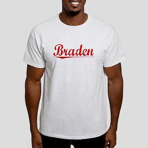 Braden, Vintage Red Light T-Shirt