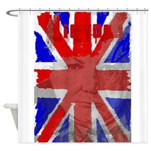 British Flag Shower Curtains