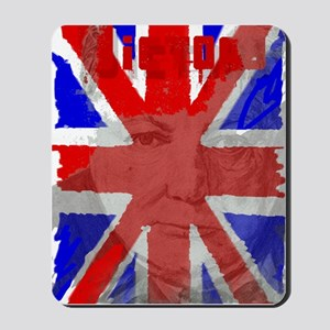 Churchill Union Jack Mousepad