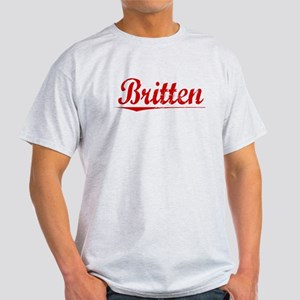 Britten, Vintage Red Light T-Shirt