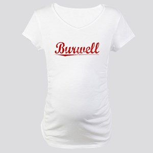 Burwell, Vintage Red Maternity T-Shirt