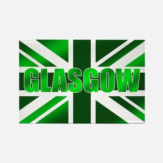 Glasgow Scotland Rectangle Magnet