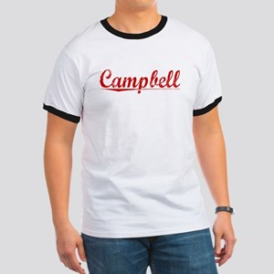 Campbell, Vintage Red Ringer T