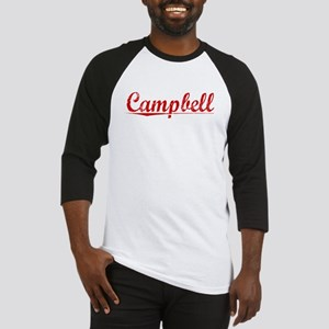 Campbell, Vintage Red Baseball Jersey