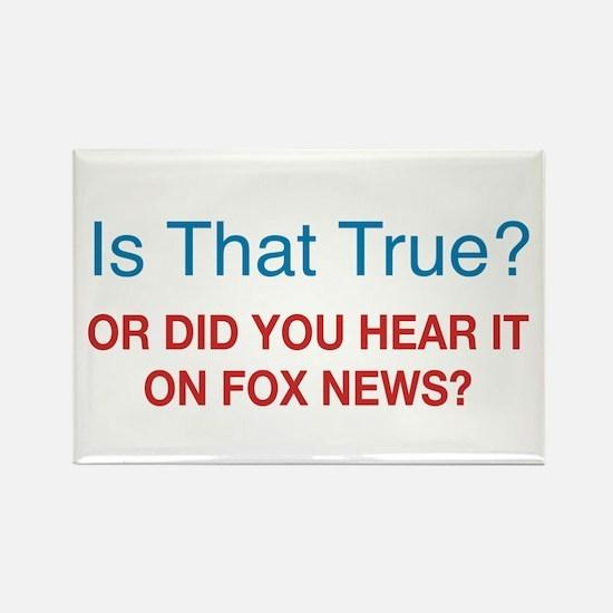 Anti Fox News Rectangle Magnet (100 pack)