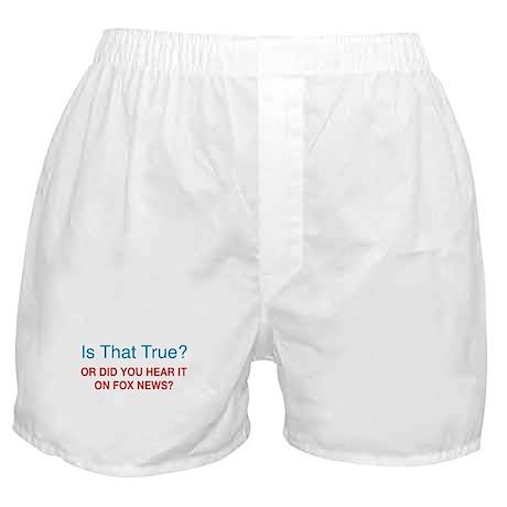 Anti Fox News Boxer Shorts