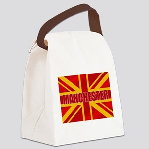 Manchester England Canvas Lunch Bag