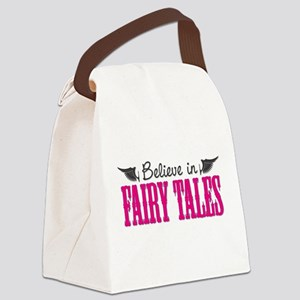Believe in Fairy Tales Canvas Lunch Bag