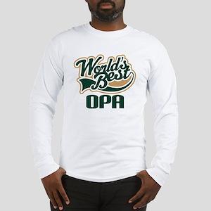 Opa (Worlds Best) Long Sleeve T-Shirt