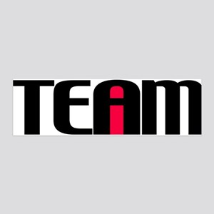 I in TEAM 20x6 Wall Decal