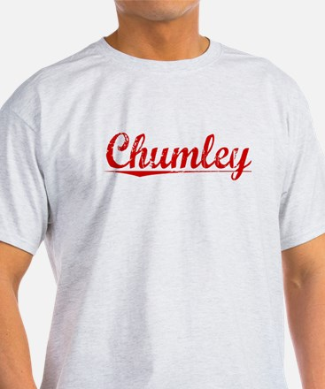 Chumley, Vintage Red T-Shirt