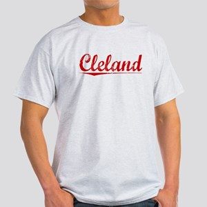 Cleland, Vintage Red Light T-Shirt