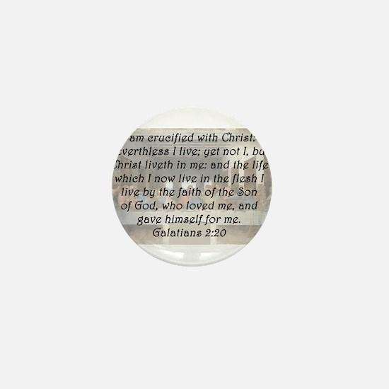 Galatians 2:20 Mini Button