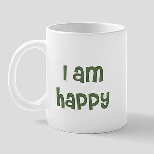 I am happy Mug