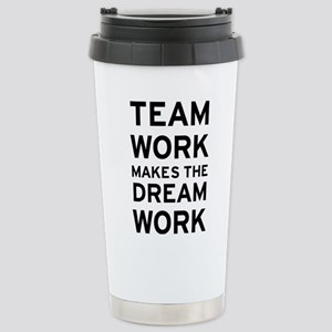 Team Dream 16 oz Stainless Steel Travel Mug