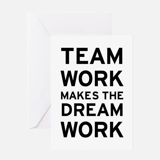 Team Dream Greeting Card