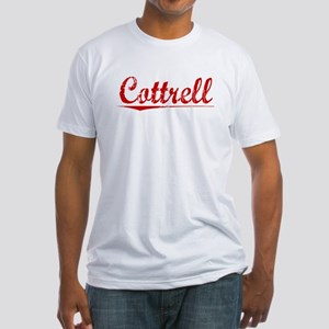 Cottrell, Vintage Red Fitted T-Shirt