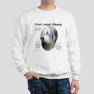 Polish Lowland Sheepdog Sweatshirt