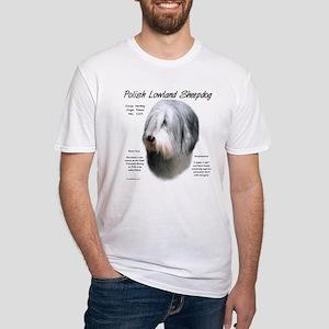 Polish Lowland Sheepdog Fitted T-Shirt
