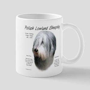 Polish Lowland Sheepdog 11 oz Ceramic Mug