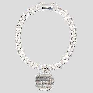 Genesis 1:26 Charm Bracelet, One Charm