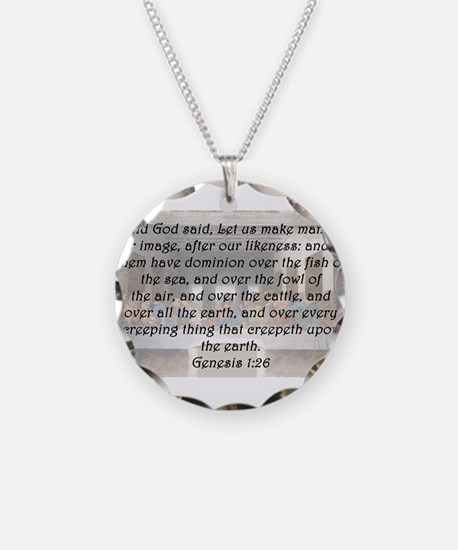 Genesis 1:26 Necklace
