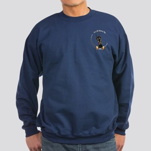 Pocket Doberman IAAM Sweatshirt (dark)
