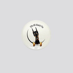 Doberman IAAM Mini Button
