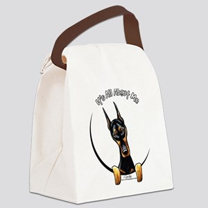 Doberman IAAM Canvas Lunch Bag