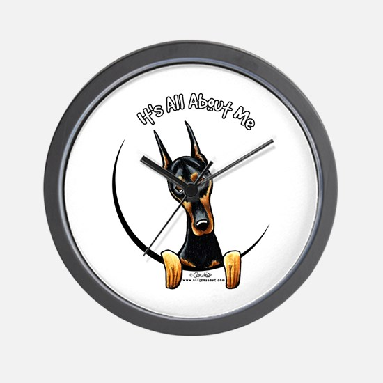 Doberman IAAM Wall Clock