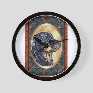 Rottweiler Designer Wall Clock
