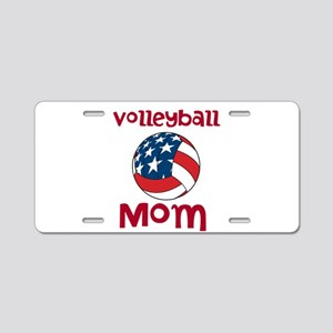 Volleyball Mom Aluminum License Plate