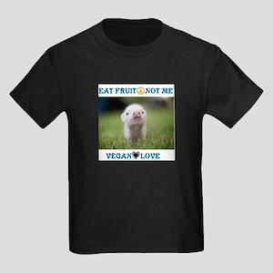 Vegan Love Kids Dark T-Shirt