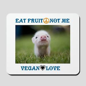 Vegan Love Mousepad