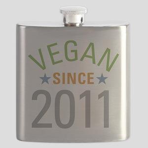 Vegan Since 2011 Flask