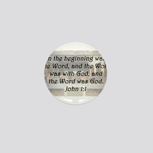 John 1:1 Mini Button