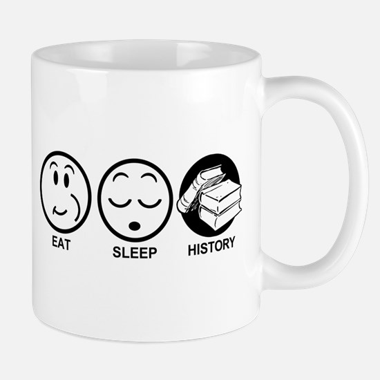 Eat Sleep History Mug