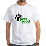 Taco Terrier White T-Shirt
