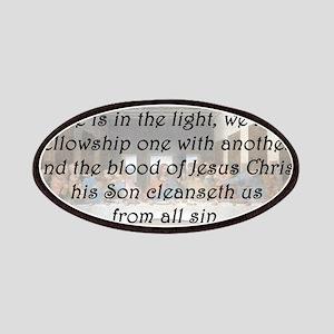 1 John 1:7 Patch