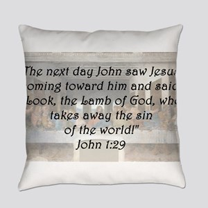 John 1:29 Everyday Pillow