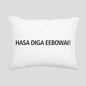 48 HR SALE! Hasa Diga Ee Rectangular Canvas Pillow