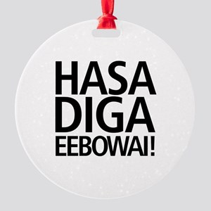48 HR SALE! Hasa Diga Eebowai Round Ornament