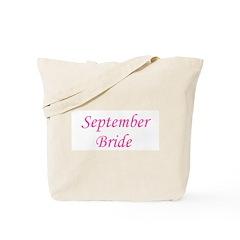September Bride Tote Bag