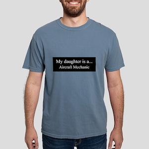 Daughter - Aircraft Mechanic Mens Comfort Colors S