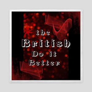 British Do it Better Queen Duvet