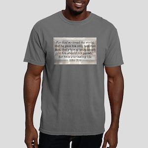 John 3:16 Mens Comfort Colors Shirt