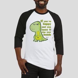 T-rex hands Baseball Jersey