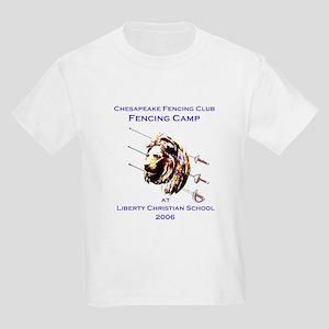 CFC Fencing Camp at Liberty C Kids T-Shirt